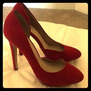 Zara Red Pumps